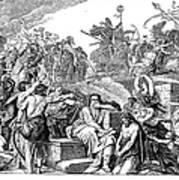 Babylonian Captivity Poster by Granger