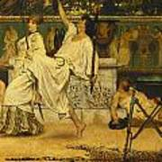 Bacchanal Poster by Sir Lawrence Alma-Tadema