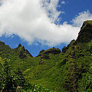 Backside Of The Napali Coast Poster