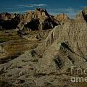 Badlands By Moonlight Poster by Chris Brewington Photography LLC