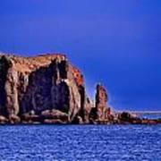 Baja Elephant Rock Poster