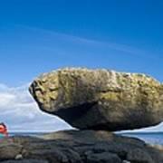 Balance Rock, British Columbia Poster