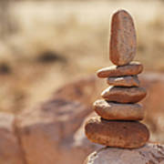 Balancing Rocks Poster by Thom Gourley/Flatbread Images, LLC