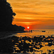 Bali Indonesian Sunset Poster