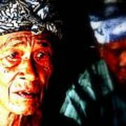 Balinese Old Man Poster by Funkpix Photo Hunter