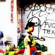 Balinese Tagging Texas Poster