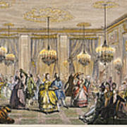 Ball, 18th Century Poster by Granger