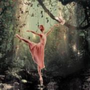 Ballerina Poster by Lee-Anne Rafferty-Evans