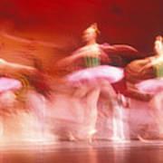 Ballet Dancers Poster by John Wong