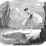 Ballet: Ondine, 1843 Poster
