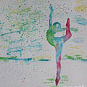 Ballet Pointe 2 Poster by Carolyn Weir
