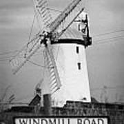 Ballycopeland Windmill County Down Ireland Poster