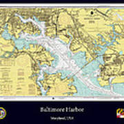 Baltimore Harbor Poster