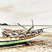Banca Boat Poster
