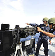 Bangladesh Navy Sailors Fire Poster