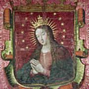 Banner Of Hernan Cortes Poster