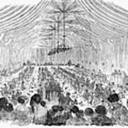 Banquet, 1851 Poster