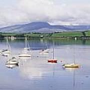 Bantry Bay, County Cork, Ireland Boats Poster