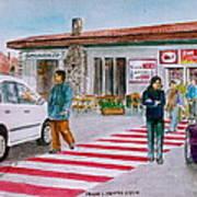 Bar Ristorante Mt. Etna Sicily Poster