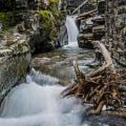 Baring Creek Waterfall And Rapids Poster