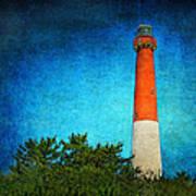Barnegat Light Poster by Pat Abbott