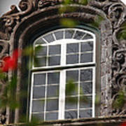 Baroque Style Window Poster