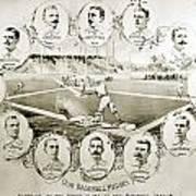 Baseball, 1895 Poster