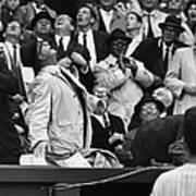 Baseball Crowd, 1962 Poster