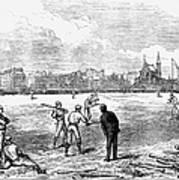 Baseball: England, 1874 Poster