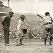 Baseball Game, 1908 Poster