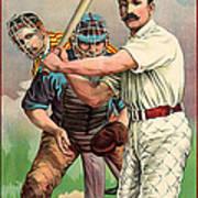 Baseball Player, C1895 Poster