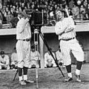 Baseball Players, 1920s Poster