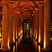 Basilica Cistern Poster