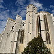 Basilica Of Saint Mary Madalene Back View Poster