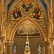 Basilica Of The Sacred Heart Poster