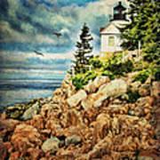 Bass Harbor - Acadia Np Poster