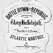 Battle Hymn Of Republic Poster