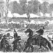 Battle Of Chickamauga 1863 Poster