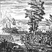 Battle Of Malplaquet, 1709 Poster
