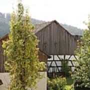 Bavarian Barn Poster