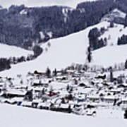 Bavarian Village Poster