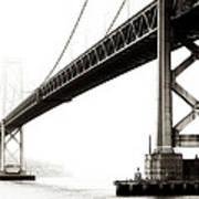 Bay Bridge Poster by Jarrod Erbe
