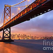 Bay Bridge To San Francisco Poster