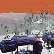 Bbq Smokers Arizona Poster