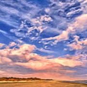Beach At Sullivan's Island Poster
