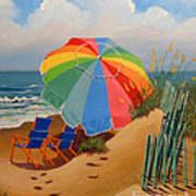 Beach Delight Poster