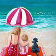Beach I Poster