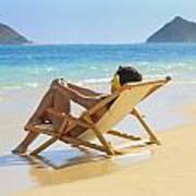 Beach Lounger II Poster