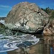Beach Rock Poster