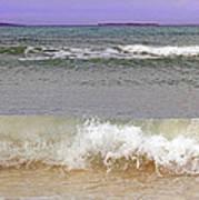Beach Waves Poster